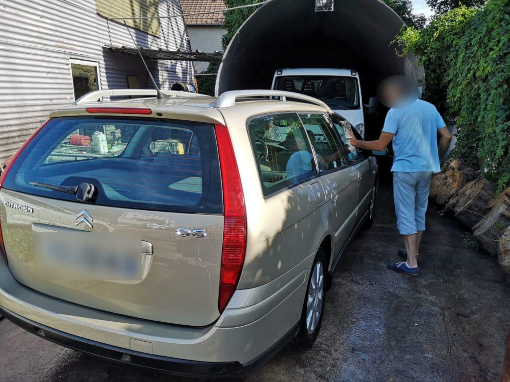 nettoyage de votre véhicule au parking Discount Parc